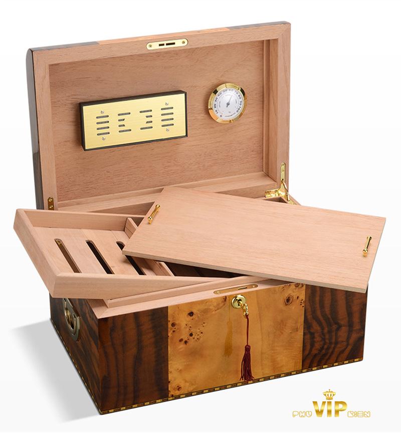 Gợi ý cách chọn kích thước hộp giữ ẩm cigar