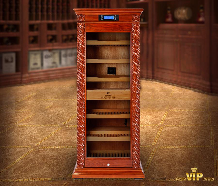Tủ bảo quản xì gà và cách xếp cigar vào tủ bảo quản